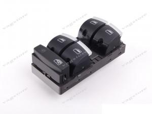 Comutator / Butoane insertie Crom Geamuri Electrice pentru AUDI A3 / A6 / Q7