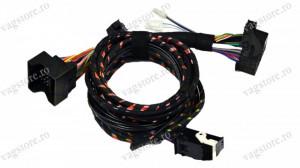 Cablaj complet Retrofit MDI si Bluetooth Original VW pentru RNS / RCD plug&play