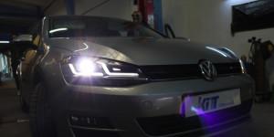 Faruri Osram Full LED compatibil cu VW Golf VII