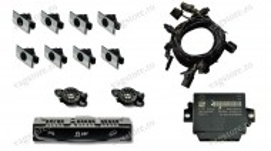Kit Retrofit Original Senzori parcare Audi Parking System Fata Spate AUDI Q5 8R cu modul 8K0919475AA