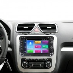 Navigatie V510S Android 9.1 2Gb RAM memorie interna 32Gb WIFI USB GPS pentru VW Passat Golf