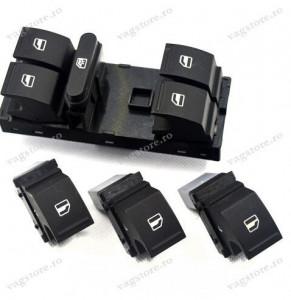 Set Butoane Geamuri Electrice culoare negru pentru VW Golf Jetta Touran Tiguan Touareg