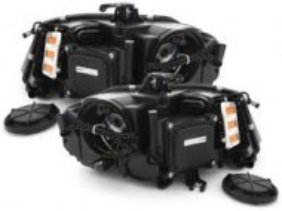 Set faruri retrofit Lupe Xenon si Led DRL AUDI A4 B8 8K
