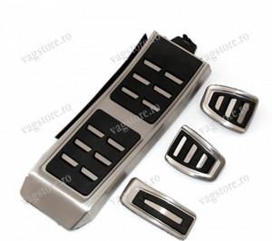 Set Pedale aluminiu AUDI A4 A5 A6 Q3 Q5 pentru Transmisie Manuala