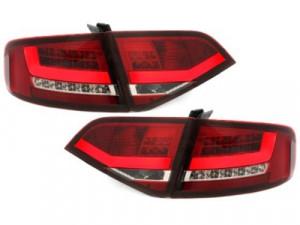 Stopuri LED Audi A4 B8 8K Sedan Rosu / Clar