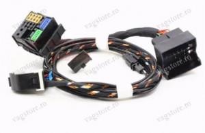 Cablaj complet Retrofit Bluetooth RNS510 VW Skoda SEAT AUDI Plug & Play cu microfon