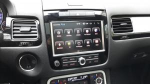 Interfata VAGTECH N850 cu Android WIFI SD USB Navigatie 4G pentru VW Touareg echipat cu RNS850