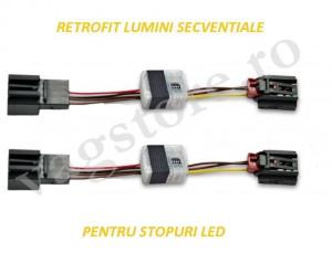 Kit Module Retrofit Lumini secventiale semnalizare lampi spate pentru VW GOLF 7