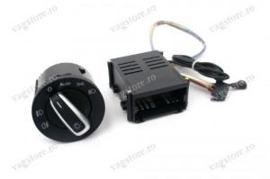 Kit Retrofit Pornire Automata Lumini / Bloc lumini Functie Auto si Senzor Lumina VW Golf 4 Passat B5 Polo