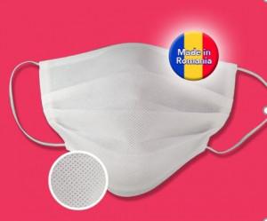 Masti / Masca de protectie Polipropilena cu 2 straturi - Reutilizabila - set 10 bucati