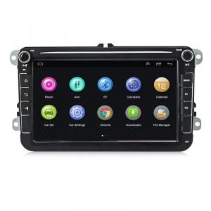 Navigatie dedicata NAVPRO 800XL display 8 inch cu Android, Touchscreen, Bluetooth si WIFI pentru VW SEAT SKODA