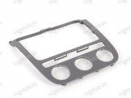 Rama Bord Radio CD-Player Climatronic Aluminium Brushed