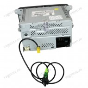Retrofit Kit Buton si cablaj USB Audio input auxiliar VW RCD / RNS
