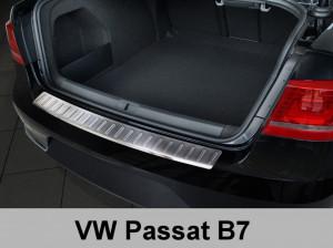 Protectie Cromata Bara spate Volkswagen Passat B7 Sedan