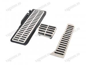 Set Pedale Aluminium Brushed pentru cutia de viteze Automata