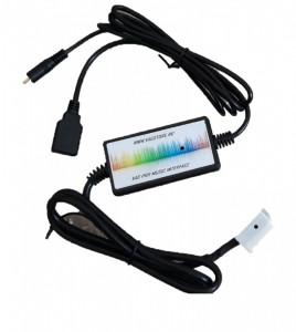 Interfata USB si AUX IN pentru AUDI 12 pini VAG PRO MUSIC INTERFACE