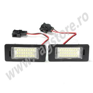Set lumini numar inmatriculare LED Audi A4 / A5 / Q5
