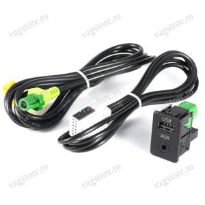 Interfata USB si AUX IN pentru VW RCD / RNS