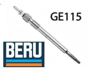 Bujie incandescenta BERU GE115 pentru motorizarile DIESEL