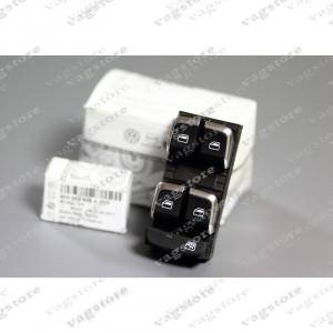 Set Butoane Geamuri Electrice Insertie Aluminium Brushed AUDI A4 A5 Q5