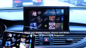 Kit retrofit Mirrorlink miracast airplay Audi AMI MMI3G/MMI3G+ / Touareg RNS850