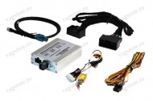 Interfata camere fata si spate (marsarier) pentru Audi MMI 3G / 3G+ si VW Touareg RNS850