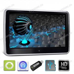 "Monitor Tableta Tetiera cu Android 10"" USB SD 1080p internet Touchscreen"