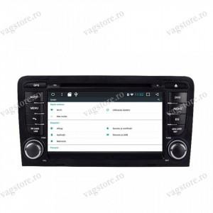 Navigatie VAG NAV 6300 PRO cu Android, Touchscreen, Bluetooth si WIFI pentru Audi A3 S3 8P 2005 - 2013