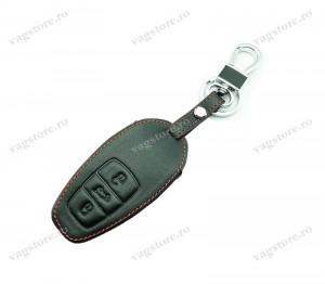 Husa din piele ecologica pentru cheie VW Touareg 7P