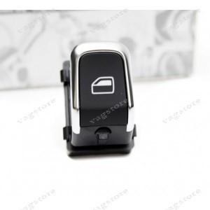 Comutator Buton Geam Electric pasager insertie Crom pentru Audi A4 A5 Q5