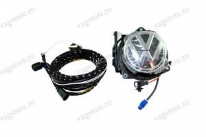 Kit complet retrofit Camera Lowline Marsarier Originala VW 5K0827469AQ ULM si cablaje pentru VW Golf 6 Passat B6 B7 CC