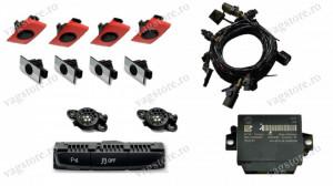 Kit Retrofit Original Senzori parcare Audi Parking System Fata Spate AUDI A4 B8 cu modul 8K0919475AA