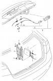 Modul Camera Marsarier Audi Q3 2010 - 2013 8U0907441