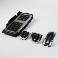 Set Pedale Aluminiu + Footrest Pentru transmisie automata A3