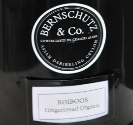 Poze Rooibos Gingerbread Organic