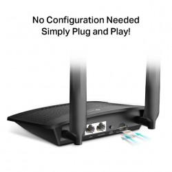 Router Modem 4G TP-LINK TL-MR100 Decodat Compatibil Orange Cosmote Digi Vodafone Zapp TDD 2600Mhz