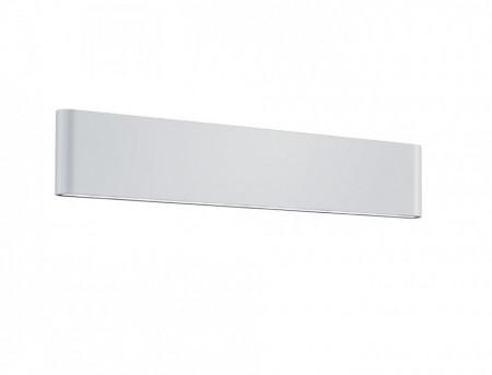 Aplica LED integrat pentru exterior Trio Thames II, 2x8W, 230V, lumina calda 3000K, 2x 800 lumeni, durata de viata 30.000 de ore, clasa energetica A+, IP54, dimensiuni 46x9cm, material fonta aluminiu, culoare alb mat