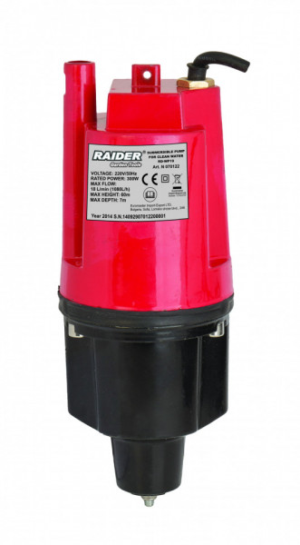 Pompa submersibila apa curata 300W, 3/4 18L/min RD-WP19