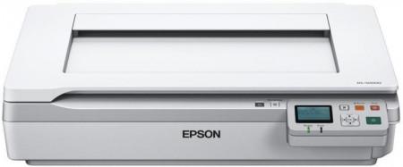 Scanner Epson DS-50000N, dimensiune A3, A4, A5, A6, B5, Letter, Legal, Executive, tip flatbed, viteza scanare: 4sec ppm alb-negru si color, rezolutie optica 600 X 600dpi, duplex, Formate ieşire:Scanare către JPEG, Scanare către TIFF, Scanare către mul