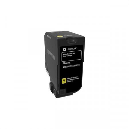 Toner Lexmark 74C0S40, yellow, 7K, compatibil cu CS720de,CS720dte