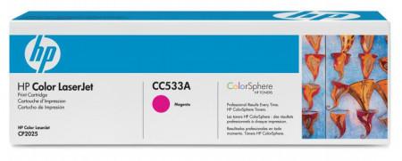 Toner HP CC533A, magenta, 2.8 k, Color LaserJet CM2320FXIMFP,Color LaserJet CM2320NFMFP, Color LaserJet CP2025, Color LaserJetCP2025DN, Color LaserJet CP2025N