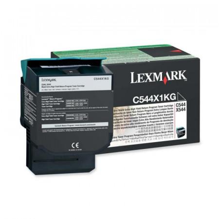 Toner Lexmark C544X1KG, black, 6 k, C544dn , C544dtn , C544dw ,C544n , X544dn , X544dtn , X544dw , X544n