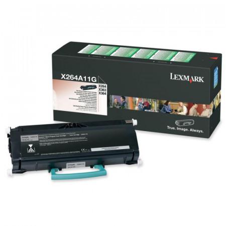 Toner Lexmark X264A11G, black, 3.5 k, X264dn , X363dn , X364dn ,X364dw