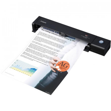 Scanner Canon P-208II portabil, dimensiune A4, tip portabil, viteza scanare 8ppm alb-negru si color, duplex, rezolutie optica 600dpi, rezolutie hardware 600x600dpi, senzor CIS, interfata: USB 2.0, software inclus: Driver ISIS /TWAIN, CaptureOnTouch, Captu