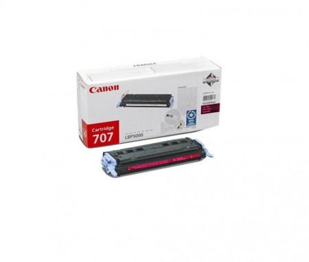 Toner Canon CRG707M, magenta, capacitate 2000 pagini, pentru LBP-5000
