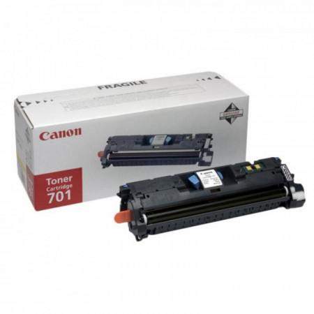 Toner Canon EP-701B, black, capacitate 5000 pagini, pentru LBP-5200