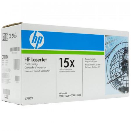Toner HP C7115X, black, 3.5 k, LaserJet 1000, LaserJet 1005,LaserJet 1200, LaserJet 1220, LaserJet 3300, LaserJet 3320, LaserJet3330, LaserJet 3380