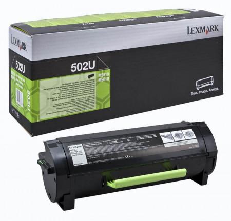 Toner Lexmark 50F2U00, black, 20 k, MS510dn , MS510dtn with 3year Exchange Service , MS610de , MS610dn , MS610dte