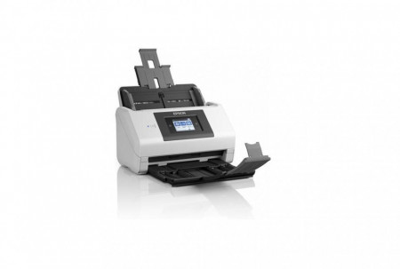 Scanner Epson DS-780N, dimensiune A4, tip sheetfed, viteza scanare: 90 ipm alb-negru si color, rezolutie optica 600x600dpi, ADF Single Pass 100 pagini, duplex, Scan to e-mail, Scan to FTP, Scan to Print, Scan to folder web, Scan to network folder, softwar