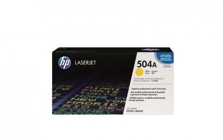 Toner HP CE252A, yellow, 7 k, Color LaserJet CM3530 MFP, ColorLaserJet CM3530FS MFP, Color LaserJet CP3525DN, Color LaserJet CP3525N,Color LaserJet CP3525X